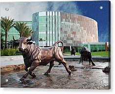 Usf Tampa Acrylic Print by Francesco Roncone