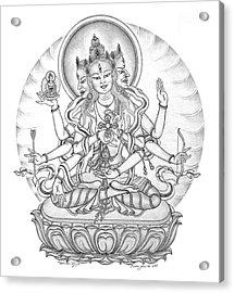 Ushnisha Vijaya Acrylic Print