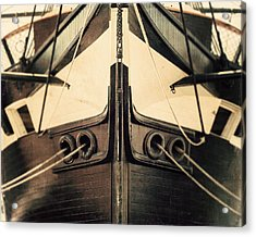 Uss Constellation Acrylic Print by Lisa Russo