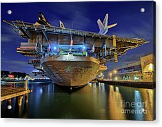 Uss Midway Aircraft Carrier  Acrylic Print