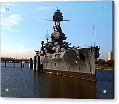Uss Texas Acrylic Print by Joshua House