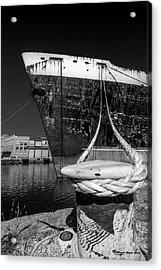 Uss United States Acrylic Print by Marvin Spates
