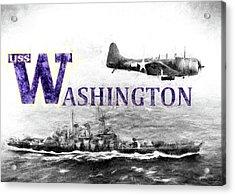 Uss Washington Acrylic Print