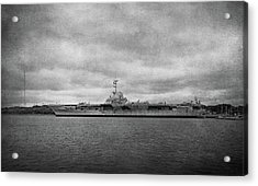 Acrylic Print featuring the photograph Uss Yorktown by Sandy Keeton