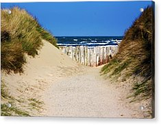 Utah Beach Normandy France Acrylic Print
