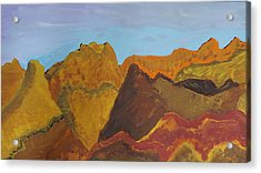 Utah Mountains Acrylic Print