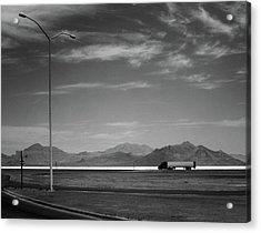 Utah Salt Flats Acrylic Print