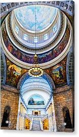 Utah State Capitol Rotunda #2 Acrylic Print