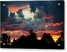 Acrylic Print featuring the photograph Utah Sunset by Bryan Carter