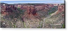 Acrylic Print featuring the photograph Ute Canyon by Jeff Loh
