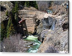 Ute-ulay Mine Acrylic Print by Max Mullins