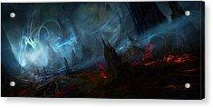 Utherworlds Nightmist Acrylic Print by Philip Straub