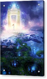 Utherworlds Passage To Hope Acrylic Print