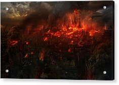 Utherworlds Reckoning Day Acrylic Print by Philip Straub