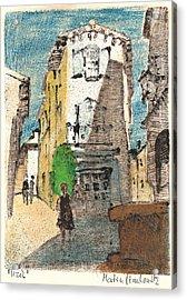Uzes Provence Acrylic Print by Martin Stankewitz