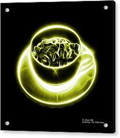 V2-bb-electrifyin The Coffee Bean-yellow Acrylic Print