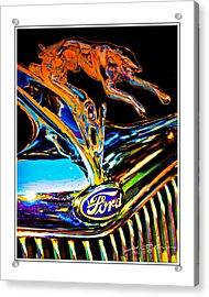 V8 Acrylic Print by John Breen