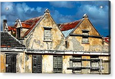 Vacancy By Curacao  Acrylic Print by Steven Digman