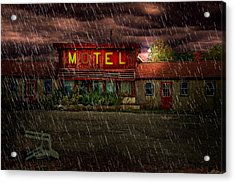 Vacancy Acrylic Print by Tom Mc Nemar
