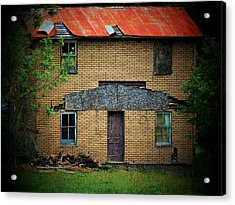 Vacant House Acrylic Print by Michael L Kimble