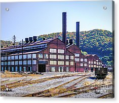 Vacant Steel Mill - Johnstown Pa Acrylic Print