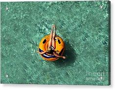 Vacation Acrylic Print by David Lee Thompson