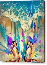 Vacation Time Acrylic Print