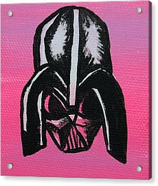 Vader In Pink Acrylic Print by Jera Sky