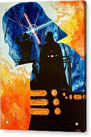 Vader Acrylic Print