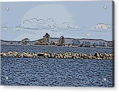 Vaennern Lake Acrylic Print
