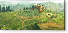 Val D'orcia Jewel Of Tuscany Acrylic Print