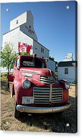 Acrylic Print featuring the photograph Val Marie, Sk by David Buhler