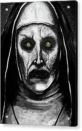 Valak The Demon Nun Acrylic Print by Taylan Apukovska