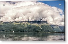Acrylic Print featuring the photograph Valdez Alaska by Claudia Abbott