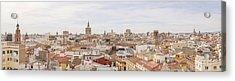 Valencia Panorama Acrylic Print