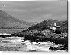 Valentia Island Mono Acrylic Print
