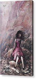 Valentine Acrylic Print by Rachel Christine Nowicki