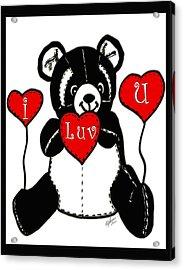 Valentine Acrylic Print