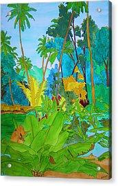 Vallee De Mai Acrylic Print by Michaela Bautz