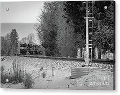 Valley Express Acrylic Print by Darren Walker