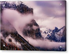 Valley Mood, Yosemite Acrylic Print by Vincent James