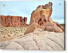 Acrylic Print featuring the photograph Valley Of Fire North by Ray Mathis