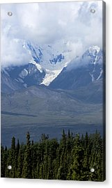 Valley Of Snow Acrylic Print by Michelle Shockley