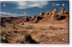 Valley Of The Goblins Acrylic Print