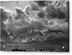 Valley Storm Acrylic Print by John Derousseau