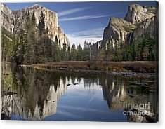 Valley View Reflection Acrylic Print