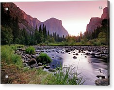 Valley View Sunrise Acrylic Print