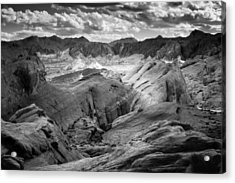Valley Of Fire Expanse Acrylic Print