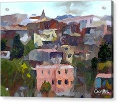 Valparaiso - Chile Acrylic Print by Carlos Camus