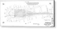 Valuation Map Washington Union Station Acrylic Print